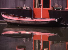 Canal Barge House, Amsterdam  1984 (Karl Agre, M.D.) Tags: day photos 5 bestofday eyeofthephotographer worldtrekker qualitypixels lifetravel mirrorser