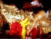 timezone 06 Indonesia Tibetan Buddhist monks at the foot of Candi Borobudur