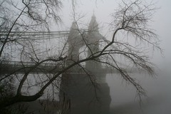 2007-12-23-067_1 London Hammersmith Bridge Fog (Martin-James) Tags: bridge mist london fog december victorian engineering hammersmith 500views riverthames soe barnes hammersmithbridge westlondon riverview 2007 1000views londonfog thamesview bazelgette 2000views 50faves golddragon diamondclassphotographer thamesideview