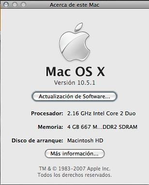 iMac 24 4GB