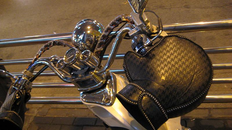 Motorcycle Oven Mitts