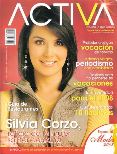 Silvia Corzo - Revista Activa 200712