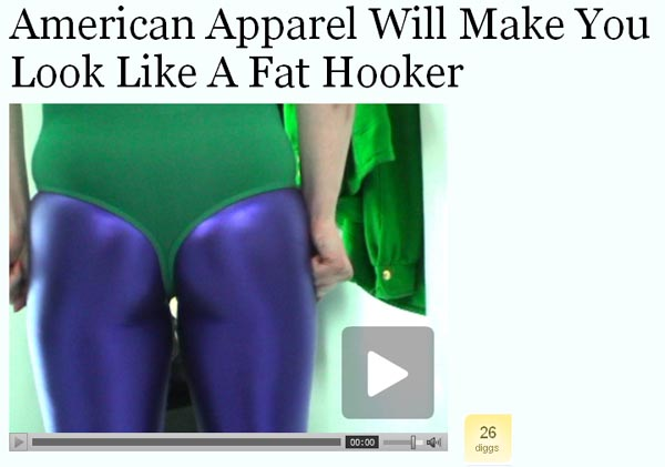 american apparel, jezebel