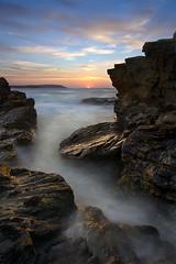 Obsessive Compulsive Disorder (jasontheaker) Tags: ocean sunset sea sun holiday sunrise canon bay sand rocks atlantic 350 sigma1020mm landscapephotography trevosehead jasontheaker trovone