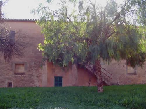 Posterior de la casa de la possessió de Son Peretó