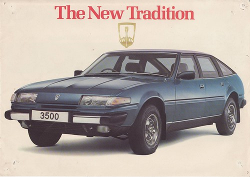 Rover 3500 SD1 brochure