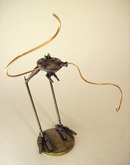Steampunk Bipedal Chicken Walker with Pilot (Builders Studio) Tags: wood fiction wild england mars west classic bronze trek comics toy death star robot punk gun ray fighter ship technology geek tech space painted alien victorian engine machine science victoria ufo retro steam queen nasa adventure copper scifi laser rocket pulp jules wars rogers rockets buck brass holmes robotics android martian droid geekery bot raygun invaders sherlock satelite robo automaton adventurer steampunk verne