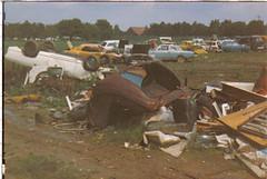 Rodheim (Trip7475) Tags: ford mercedes 70s junkyard scrapyard taunus manta opel kadett 70er schrottplatz