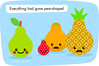 Fruity Cuties - Fruit Jokes (FruityCuties) Tags: orange apple fruit lemon humor pineapple jokes laughter limefruit comedyfruit