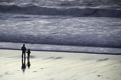 (jimheid) Tags: love beach bodylanguage mendocino fortbragg puddingcreekbeach dadandkid