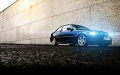 BMW Nils Night_2 (nils_vb88) Tags: car photoshop canon lights bmw beamer ci retouching xenon sportscar beemer 320 bimmer e46 eos400d