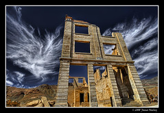 Fading Away (James Neeley) Tags: bravo ghosttown rhyolite hdr 5xp mywinners anawesomeshot jamesneeley