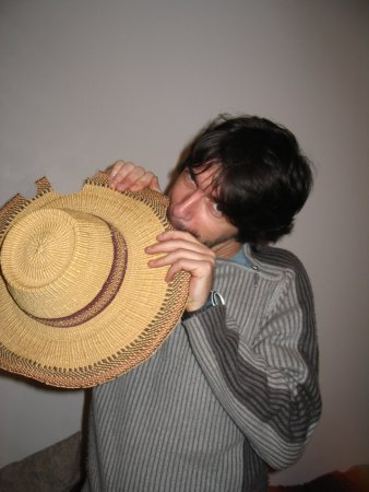 Manger son chapeau
