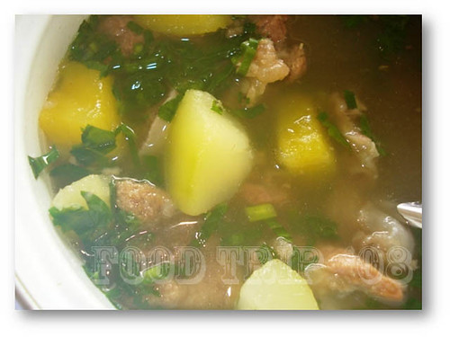 beef and vegetable broth