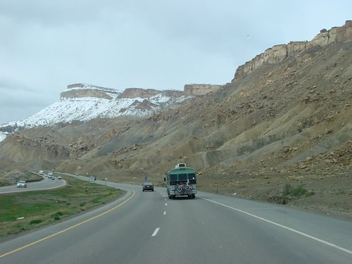 Leaving Grand Junction, CO