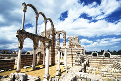 The Main Palace (LLP (Recuperating... Extended Away)) Tags: lebanon history nikon ruins archeology d300 umayyad anjar
