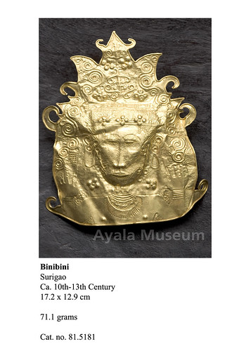 Burial mask from Surigao
