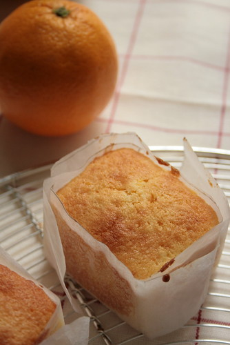 orange marmelade muffin