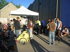 Bike Project Pancake feed for Bike to Work Day (nicoyogui) Tags: bike pancake reno biketoworkday bikeproject rbp