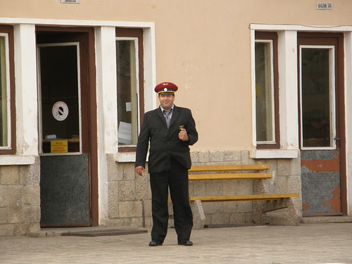 Stationmaster of Gara Belitsa