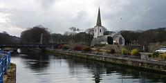 Glenarm - St Patrick's Church  [Explore] (Philip McErlean) Tags: glenarm coantrim northern ireland stpatrick churchofireland anglican coast water sky