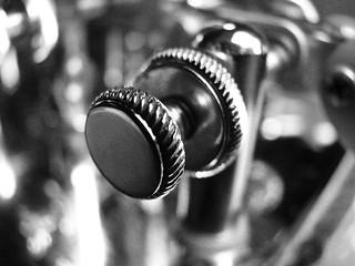 Macro Mondays - B&W Morse Key