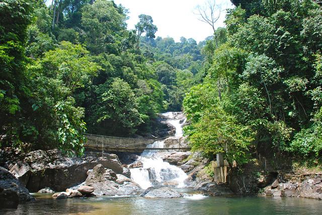 Malaysia - Terengganu - Tasik Kenyir - Air Terjun Lasir