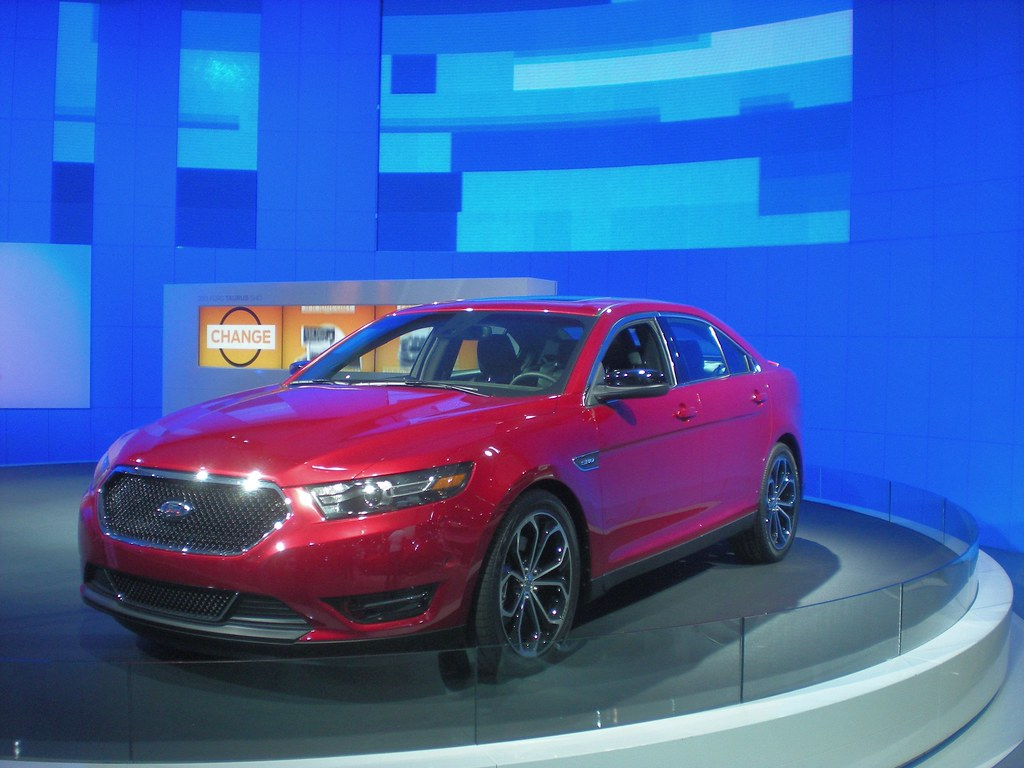 New York Auto Show, 2011 - The 2013 Ford Taurus