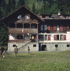 Kandersteg Chalets (deargdoom57) Tags: switzerland scouts kandersteg slidescans inst rbai belfastinst 74thbelfastscouts scoutcamp1971
