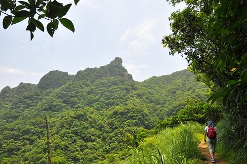 侯硐越嶺三貂嶺步道-獅子嘴奇岩