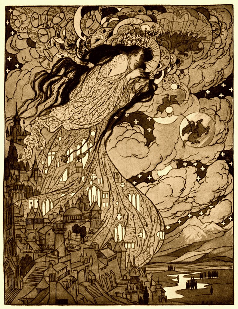 Sidney Sime - The Soul Of Andelsprutz (1910)