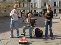 A visit to Cracow (Chris Kutschera) Tags: musician poland cracow ambiance musicien atmosphre