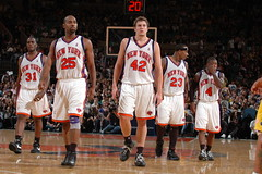The New York Knicks (noamgalai) Tags: nyc ny newyork basketball sport photography photo telaviv team picture photograph lee msg madisonsquaregarden nba allrightsreserved maccabi knicks   photomania davidlee  quentinrichardson noamg naterobinson  noamgalai   malikrose  mardycollins wwwnoamgalaicom     sitemain sitesports