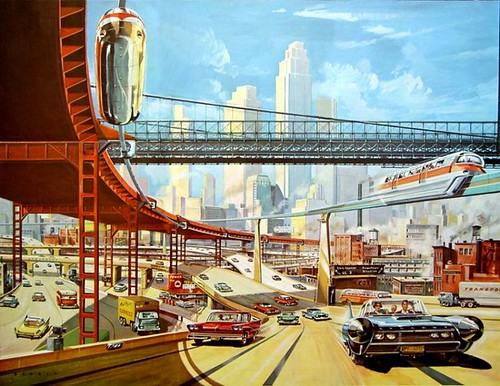 Klaus Bürgle: Traffic of the Future / Michael Peters