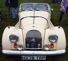 I'm not into cars, but - (Davy Ellis) Tags: vintagecar northumberland northumbria morgan northeast alwintonshow
