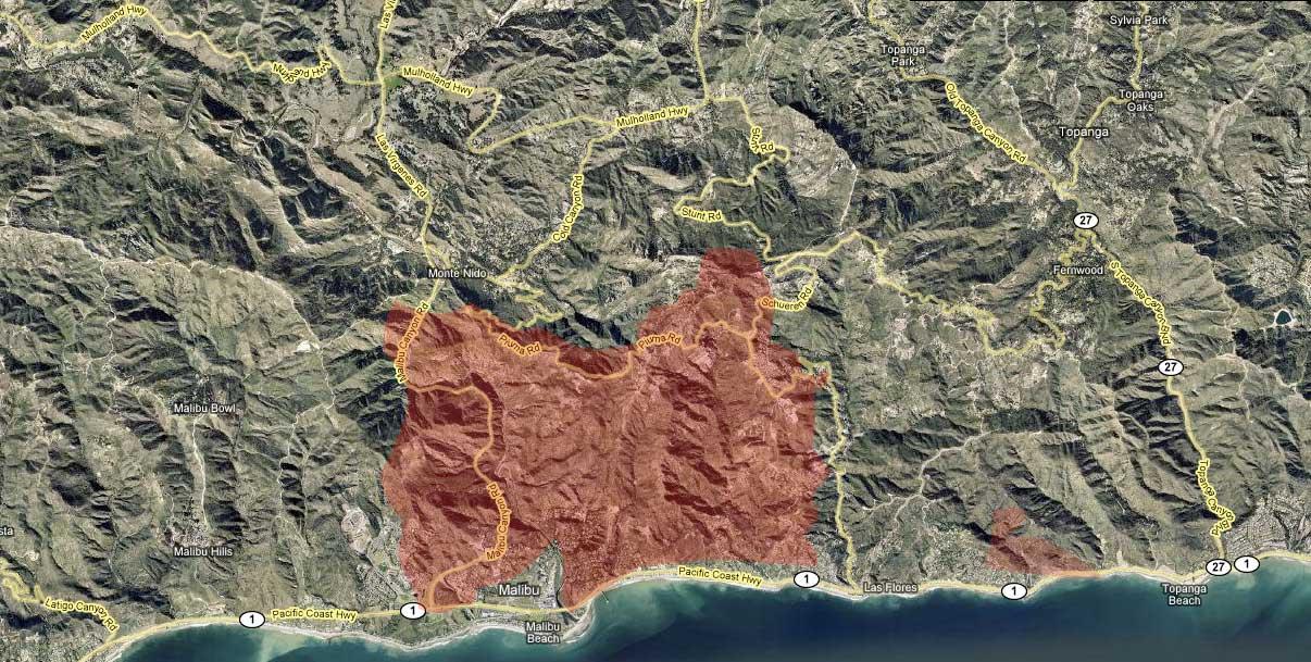 Malibu Fire Day 3 Oct 23