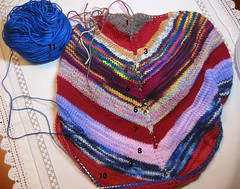 Sock Yarn Shawl