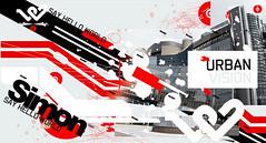 Personalwork/ hellourban ([GW] GrafikWar) Tags: poster design experimentation graphique grafikwar