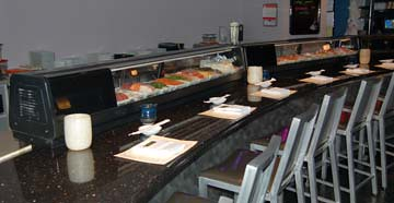 KoFusion: Food Display at the Bar