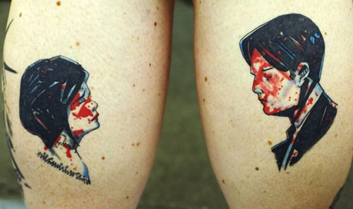 My-Chemical-Romance Tattoo by The Tattoo Studio.