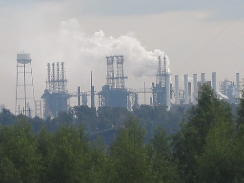 Exxon oil refinery by Dickinson College Environmental Studies Department