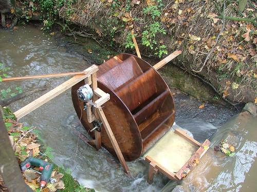 water wheel power generation makingyourown