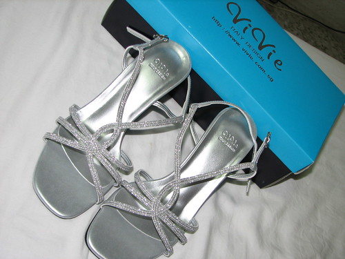 Vivie Wedding Shoes collection  with Silver