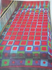 j que os anos 70/80 esto de volta... (Solange C) Tags: red inspiration crochet blanket crochetpattern
