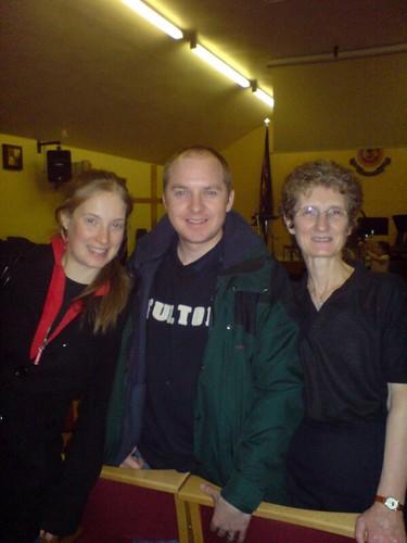 Kirsty, Frazer & Liz at SNAC