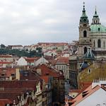 Prague: St. Nicholas Church and Mala Strana (Little Quarter)
