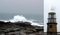 O Faro de Corrubedo (Orangita.) Tags: faro olas atlntico corrubedo