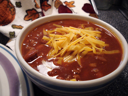 vegetarian chili, new mexico style