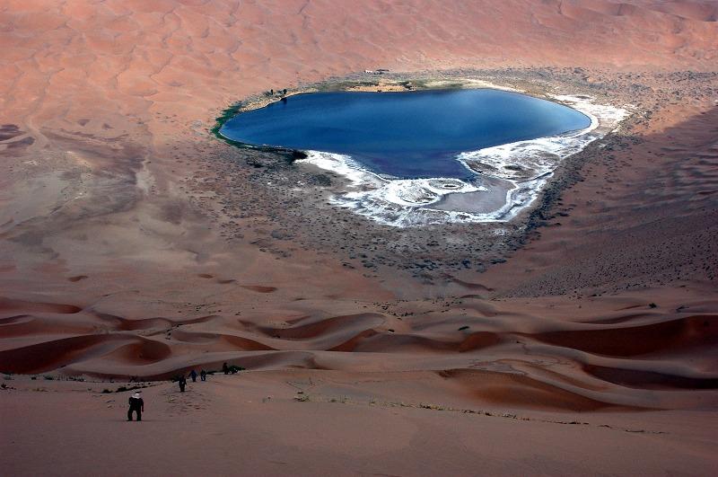 年度照片徵選-一月 » 沙漠藍寶石