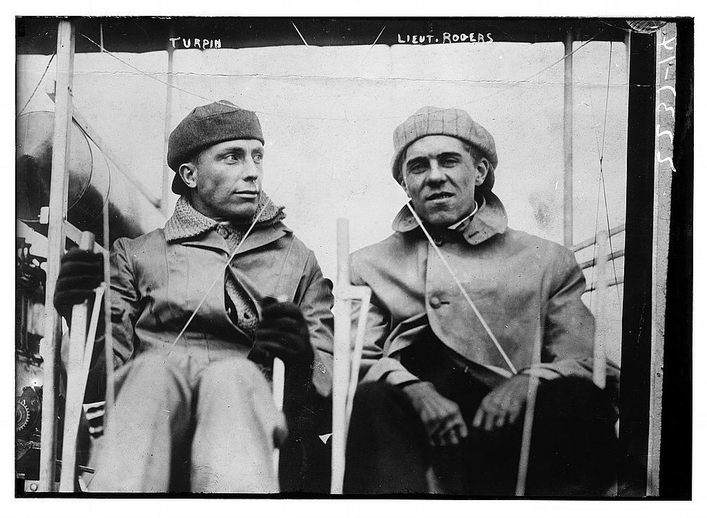 Turpin & Lt. Rogers.